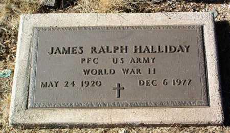 HALLIDAY, JAMES RALPH - Yavapai County, Arizona | JAMES RALPH HALLIDAY - Arizona Gravestone Photos