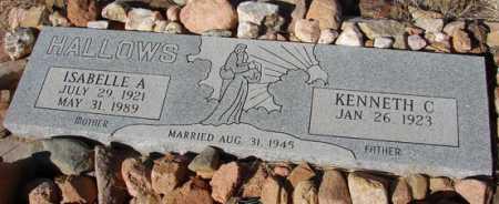 HALLOWS, KENNETH CARL - Yavapai County, Arizona | KENNETH CARL HALLOWS - Arizona Gravestone Photos