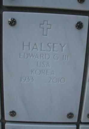 HALSEY, EDWARD GOSMAN, III - Yavapai County, Arizona | EDWARD GOSMAN, III HALSEY - Arizona Gravestone Photos