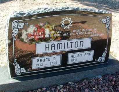 HAMILTON, HELEN ANN - Yavapai County, Arizona   HELEN ANN HAMILTON - Arizona Gravestone Photos