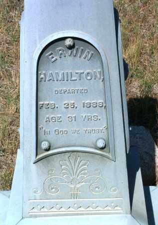 HAMILTON, ERWIN / IRVIN - Yavapai County, Arizona   ERWIN / IRVIN HAMILTON - Arizona Gravestone Photos