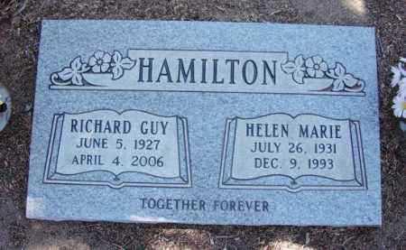 HAMILTON, RICHARD GUY - Yavapai County, Arizona | RICHARD GUY HAMILTON - Arizona Gravestone Photos