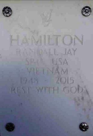 HAMILTON, RANDALL JAY - Yavapai County, Arizona | RANDALL JAY HAMILTON - Arizona Gravestone Photos