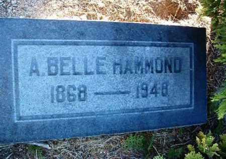 HAMMOND, ALICE BELLE - Yavapai County, Arizona   ALICE BELLE HAMMOND - Arizona Gravestone Photos