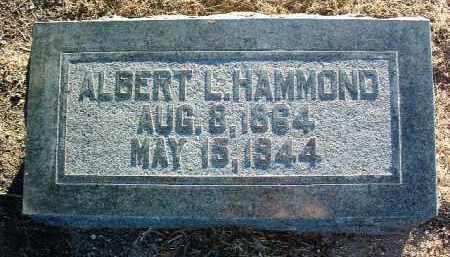 HAMMOND, ALBERT L. - Yavapai County, Arizona | ALBERT L. HAMMOND - Arizona Gravestone Photos