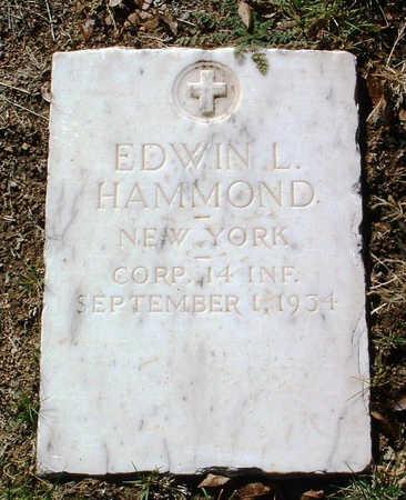 HAMMOND, EDWIN  LEWIS - Yavapai County, Arizona | EDWIN  LEWIS HAMMOND - Arizona Gravestone Photos