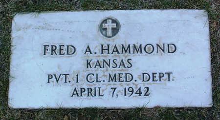 HAMMOND, FRED  A. - Yavapai County, Arizona | FRED  A. HAMMOND - Arizona Gravestone Photos