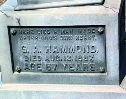 HAMMOND, GEORGE A. - Yavapai County, Arizona | GEORGE A. HAMMOND - Arizona Gravestone Photos
