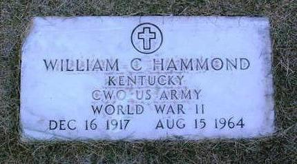 HAMMOND, WILLIAM C. - Yavapai County, Arizona | WILLIAM C. HAMMOND - Arizona Gravestone Photos