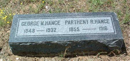 HANCE, GEORGE WASHINGTON - Yavapai County, Arizona | GEORGE WASHINGTON HANCE - Arizona Gravestone Photos