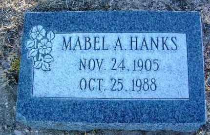 ALLEN HANKS, MABEL A. - Yavapai County, Arizona | MABEL A. ALLEN HANKS - Arizona Gravestone Photos