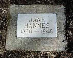 HANNES, JANE - Yavapai County, Arizona   JANE HANNES - Arizona Gravestone Photos