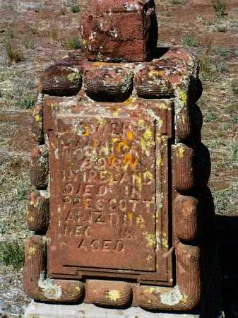 HANNIGAN, OWEN - Yavapai County, Arizona   OWEN HANNIGAN - Arizona Gravestone Photos
