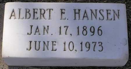 HANSEN, ALBERT E. - Yavapai County, Arizona   ALBERT E. HANSEN - Arizona Gravestone Photos