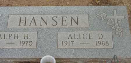 HANSEN, ALICE DAWN - Yavapai County, Arizona | ALICE DAWN HANSEN - Arizona Gravestone Photos