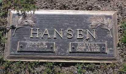 HANSEN, DENNIS WAYNE - Yavapai County, Arizona | DENNIS WAYNE HANSEN - Arizona Gravestone Photos