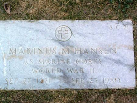 HANSEN, MARINUS M. - Yavapai County, Arizona | MARINUS M. HANSEN - Arizona Gravestone Photos