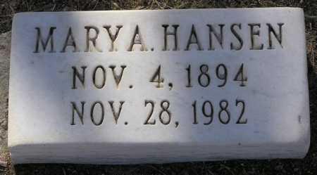 HANSEN, MARY ALICE - Yavapai County, Arizona | MARY ALICE HANSEN - Arizona Gravestone Photos