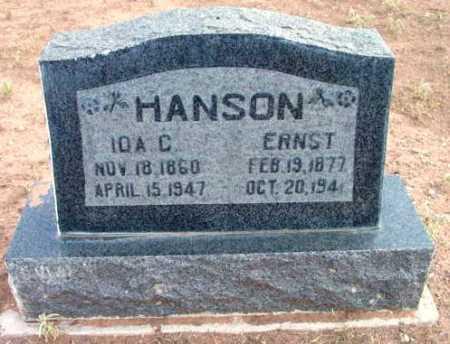 HOKANSON HANSON, IDA C. - Yavapai County, Arizona   IDA C. HOKANSON HANSON - Arizona Gravestone Photos