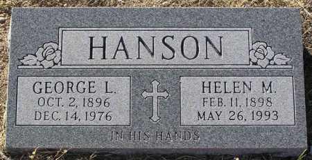 HANSON, HELEN M. - Yavapai County, Arizona | HELEN M. HANSON - Arizona Gravestone Photos