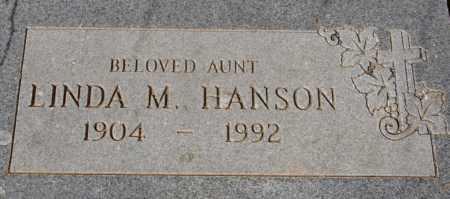HANSON, LINDA M. - Yavapai County, Arizona | LINDA M. HANSON - Arizona Gravestone Photos