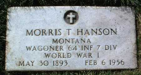 HANSON, MORRIS THEDFORD - Yavapai County, Arizona | MORRIS THEDFORD HANSON - Arizona Gravestone Photos