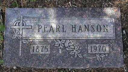 HANSON, PEARL CECLIA - Yavapai County, Arizona   PEARL CECLIA HANSON - Arizona Gravestone Photos