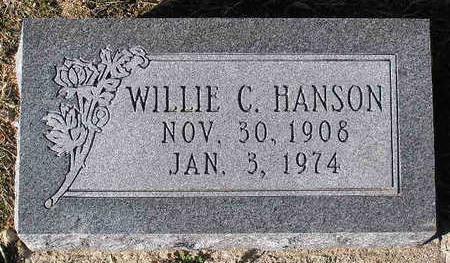 HANSON, WILLIE CECIL - Yavapai County, Arizona | WILLIE CECIL HANSON - Arizona Gravestone Photos