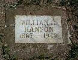HANSON, WILLIAM CONRAD - Yavapai County, Arizona   WILLIAM CONRAD HANSON - Arizona Gravestone Photos