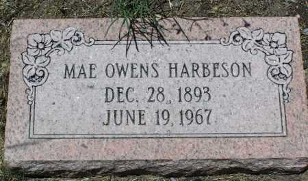 OWENS HARBESON, MAE N. - Yavapai County, Arizona | MAE N. OWENS HARBESON - Arizona Gravestone Photos