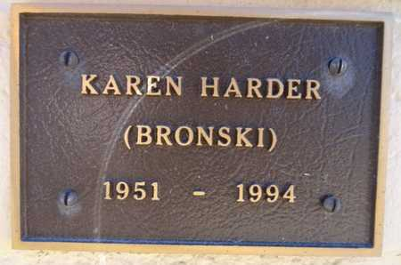 BRONSKI HARDER, KAREN E. - Yavapai County, Arizona | KAREN E. BRONSKI HARDER - Arizona Gravestone Photos