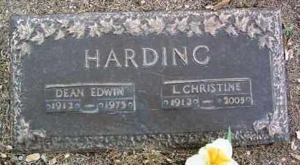 HARDING, LILLIAN CHRISTINE - Yavapai County, Arizona | LILLIAN CHRISTINE HARDING - Arizona Gravestone Photos