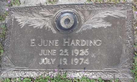 HARDING, EVELYN JUNE - Yavapai County, Arizona   EVELYN JUNE HARDING - Arizona Gravestone Photos