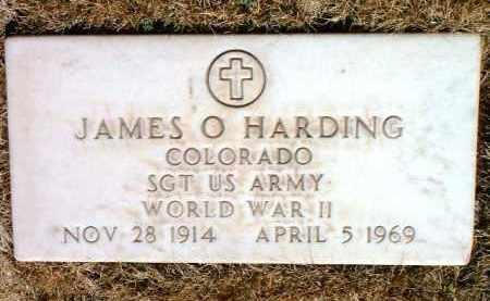 HARDING, JAMES O. - Yavapai County, Arizona | JAMES O. HARDING - Arizona Gravestone Photos