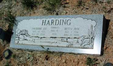 HARDING, THEODORE LEE - Yavapai County, Arizona | THEODORE LEE HARDING - Arizona Gravestone Photos