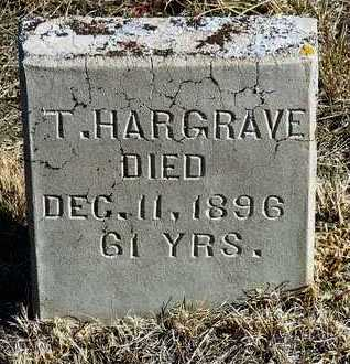 HARGRAVE, THOMAS - Yavapai County, Arizona | THOMAS HARGRAVE - Arizona Gravestone Photos
