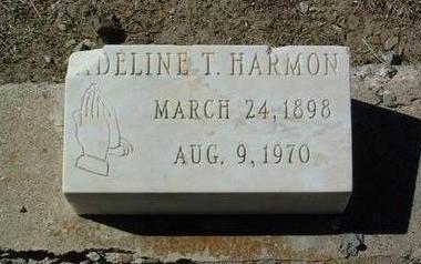 HARMON, ADELINE AMELIA - Yavapai County, Arizona | ADELINE AMELIA HARMON - Arizona Gravestone Photos