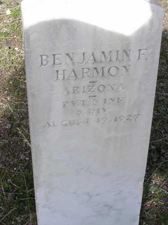 HARMON, BENJAMIN FRANKLIN - Yavapai County, Arizona | BENJAMIN FRANKLIN HARMON - Arizona Gravestone Photos