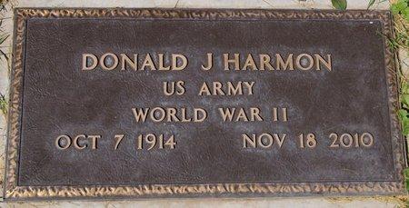 HARMON, DONALD J. - Yavapai County, Arizona | DONALD J. HARMON - Arizona Gravestone Photos