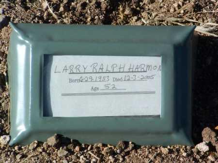 HARMON, LARRY RALPH - Yavapai County, Arizona   LARRY RALPH HARMON - Arizona Gravestone Photos