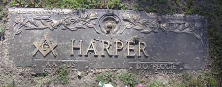 HARPER, AUGUSTUS A. - Yavapai County, Arizona | AUGUSTUS A. HARPER - Arizona Gravestone Photos
