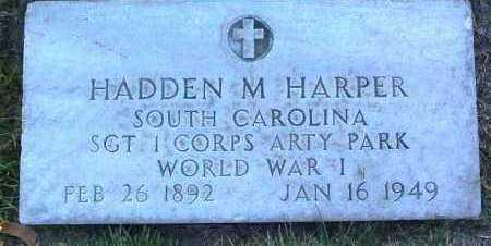 HARPER, HADDEN MANNING - Yavapai County, Arizona   HADDEN MANNING HARPER - Arizona Gravestone Photos