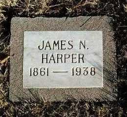 HARPER, JAMES NELSON - Yavapai County, Arizona | JAMES NELSON HARPER - Arizona Gravestone Photos
