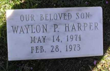 HARPER, WAYLON PERRY - Yavapai County, Arizona | WAYLON PERRY HARPER - Arizona Gravestone Photos