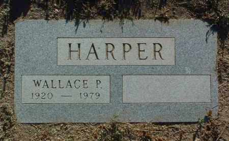 HARPER, WALLACE PERRY - Yavapai County, Arizona   WALLACE PERRY HARPER - Arizona Gravestone Photos