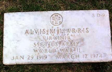 HARRIS, ALVIS MILLEDGE - Yavapai County, Arizona | ALVIS MILLEDGE HARRIS - Arizona Gravestone Photos