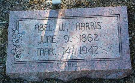 HARRIS, ABEL W. - Yavapai County, Arizona | ABEL W. HARRIS - Arizona Gravestone Photos