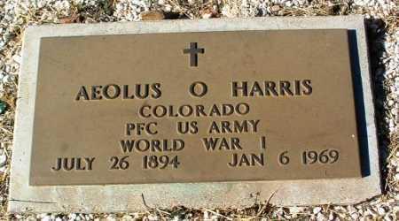 HARRIS, AEOLUS O. - Yavapai County, Arizona | AEOLUS O. HARRIS - Arizona Gravestone Photos