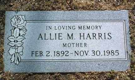HARRIS, ALLIE M. - Yavapai County, Arizona | ALLIE M. HARRIS - Arizona Gravestone Photos