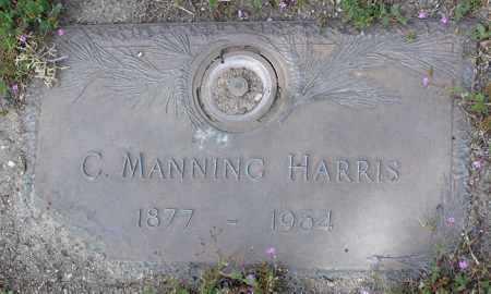 HARRIS, CLARENCE MANNING - Yavapai County, Arizona | CLARENCE MANNING HARRIS - Arizona Gravestone Photos